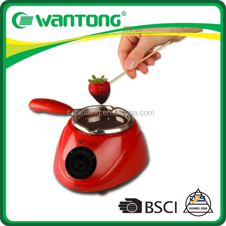Wantong Over 14 years experience 7 Lovely Reusable Molds Included Chocolate Maker,Electric Chocolate Melting Pot