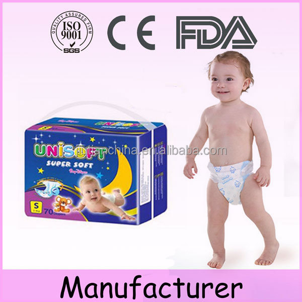 Low MOQ soft care bebek bezi baby diaper factory price
