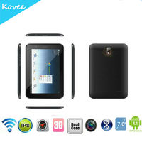 7 inch mtk8377 tablet pc dual core tablet pc, network+calling, 7 inch 3G tablet