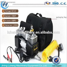 car air pump 12v air compressor portable automobile tire inflator pump