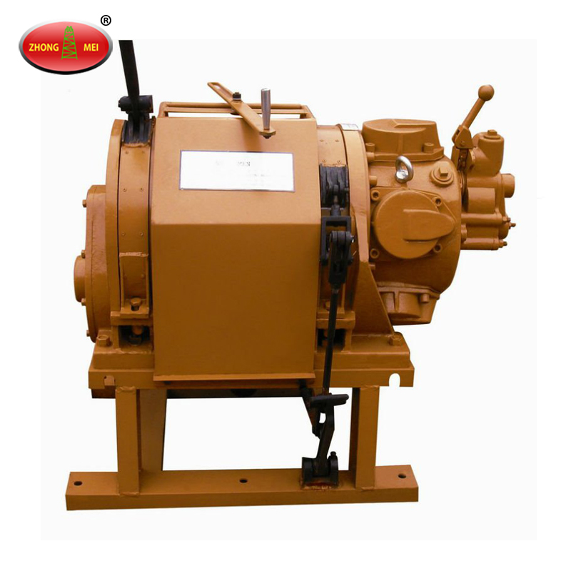 China Coal JQH Series Oil Field Explosion Proof Air Traction Winch