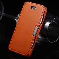 Genuine Leather Wholesale Mobile Phone Case For iPhone 5 5S
