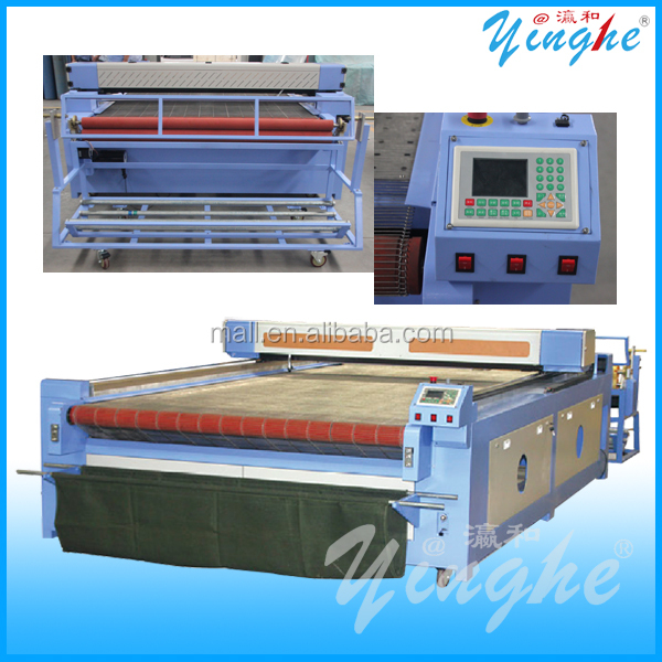 Manufacturers Garment automatic Fabric Laser Cutting Machine with AutoCAD/germany garment laser cutting machine with low price