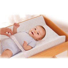 High Quality 100% Cotton Waterproof Washable Baby Changing Mat , Infant Contoured Changing Pad