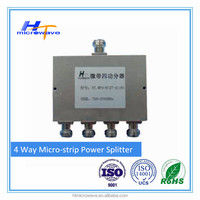 698-2700MHz 4 Way Micro-strip Power Divider Splitter N Female connector