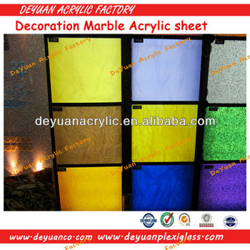 Different Patterned Marble Acrylic Sheet/Decorative Marble Acrylic Sheet/Marble Acrylic