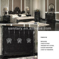 hot sale Luxury classical bedroom furniture