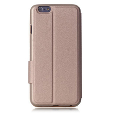 Slim Flip Covers PU Leather Case With Front View Window for iPhone 6