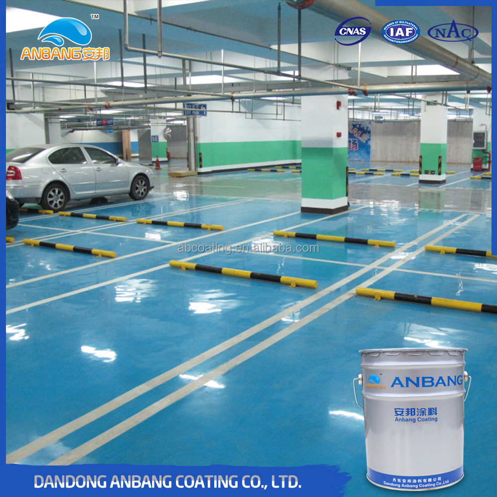 AB-DP-300D epoxy resin concrete sealer clear coat with good penetration and adhesion