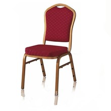 factory wholesale aluminium good quality used stackable chairs
