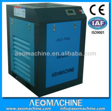 10 hp oil injected electric screw air compressor with 300 l air tank