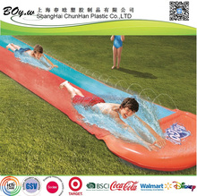 manufacturer customized design giant outdoor water play toys children Inflatable double water slide