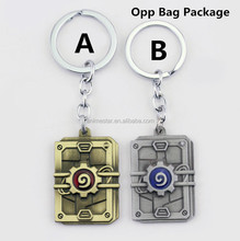 Hearthstone: Heroes of Warcraft Anime Key Chain 10pcs/set