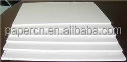 100% cotton paper with security thread watermark