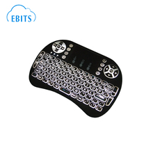 2.4G Mini Rii i8 backlit Wireless Keyboard Remote Controls Air Mouse
