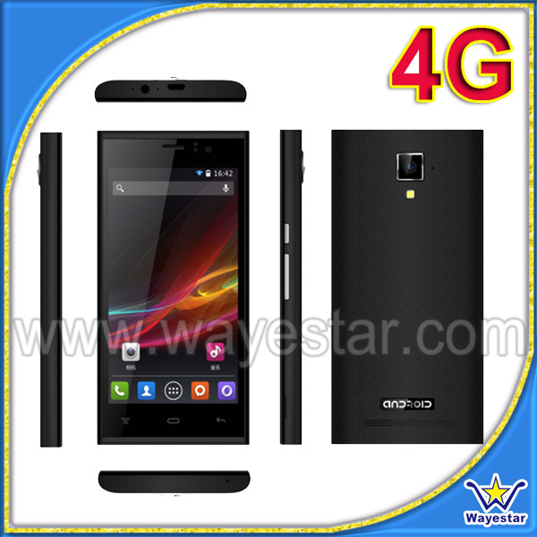 4.5 inch Screen Small Screen Cheap Price Unlocked Dual Sim 4G FDD Android 4.4 Mobile Phone Made in China