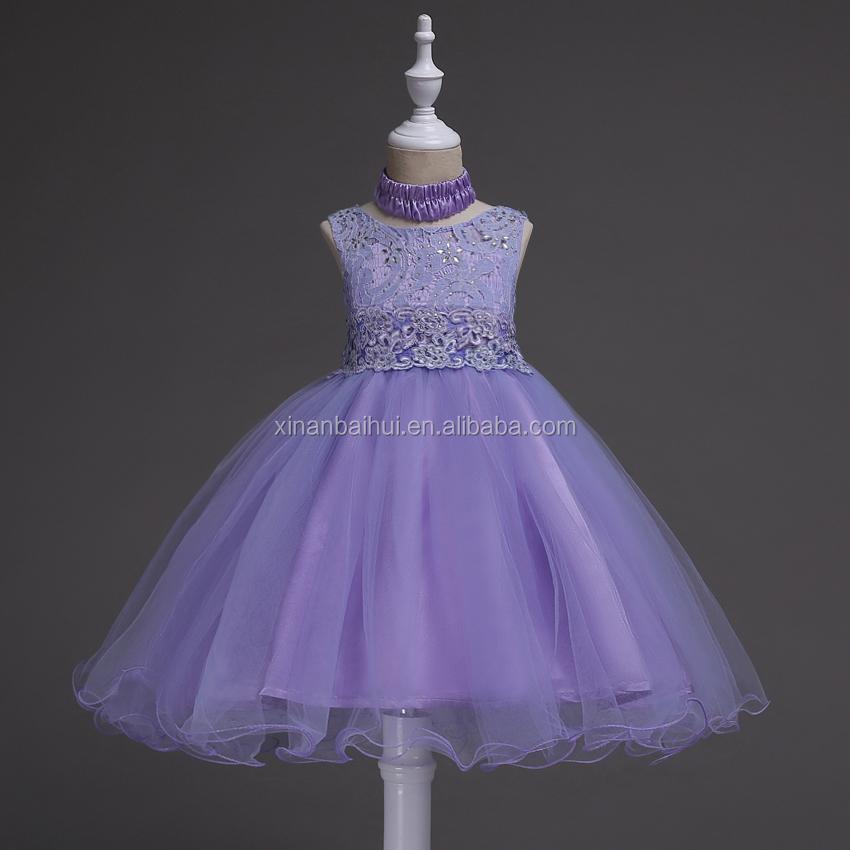 Europäischen Stil mädchen Spitze Prinzessin Kleid Kinder Rosa ...