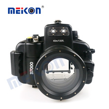 Newest Underwater Diving Camera Case Waterproof Camera Housing For DSLR Nikon D7000 Camera