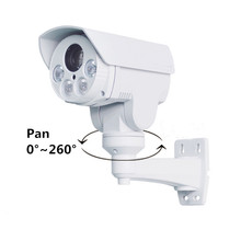 2.0MP HD ONVIF P2P Outdoor Motorized Auto Zoom Lens 5-50mm 10X Optical Zoom Ptz Bullet IP Camera For CCTV NVR System