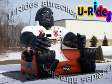 Kingkong Inflatable basketball shoot