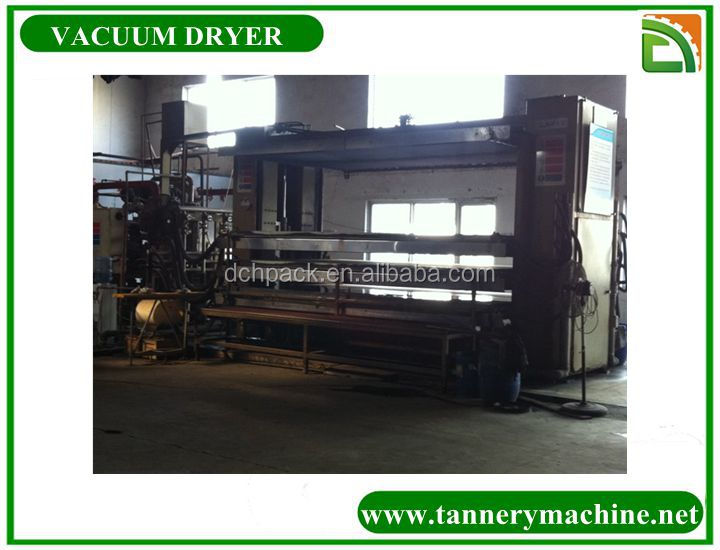 industria leather vacuum dryer used for tannery exporter