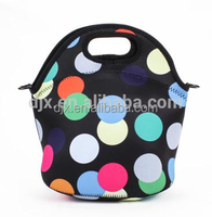 2015 High Quality Fashion Insulated Customized neoprene lunch bag Sublimation cooler tote bags