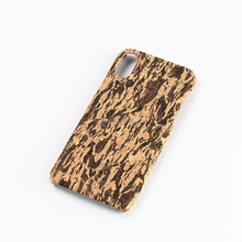 Mobile phone accessories,real cork wooden phone case for Iphone 6, hot selling phone case for I8