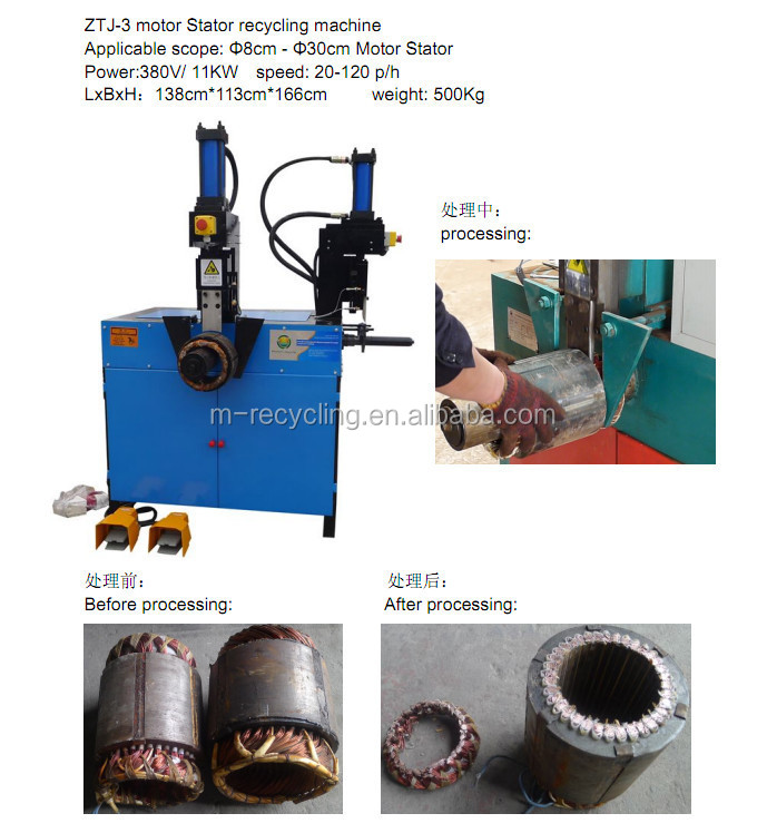 Scrapping Industrial Electric Motor Recycling Machine Ztj 4 Electric Motor Winding Machine Buy