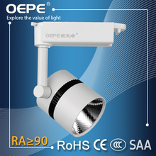 CE ROHS SAA approved led lighting track system warm white/cool white/pure white dimmable led track lighting