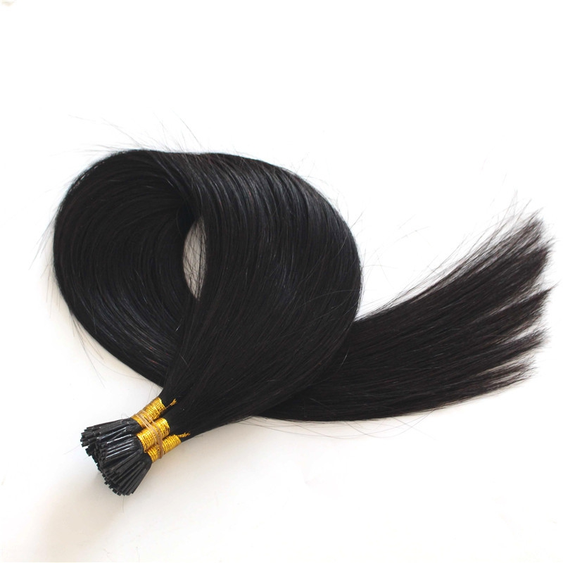 Wholesale 8a grade brazilian hair hot sale pre-bonded hair extensions I tip hair styles