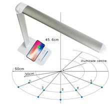 Wireless Charging LED Table Lamp For Samsung S8 S9