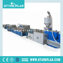 PVC cable pipe plastic tube making extruder machine extrusion line