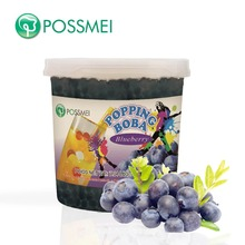 Hot Selling Taiwan Bubble Tea Blueberry Popping Boba