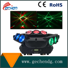 new style disco club 9 head 4in1 LED Moving Head Light Dj Spider Light