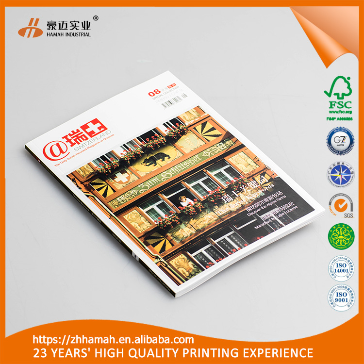 Top selling advertising folded flyer/leaflet/magazine/posters printing services