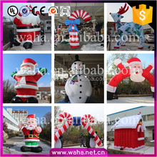 Best!!! High Quality!!! 2016 Christmas Decoration Inflatable Santa Claus Cartoon ,Arch,Archway,Candy Pillar,House,Tree W10990