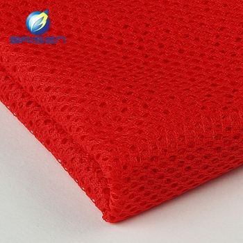 Breathable Polyester Red Burgundy Tulle Fabrics