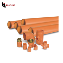 JH0420 plastic pvc orange color pipe fire resistance cpvc pipe fireproof pvc pipe
