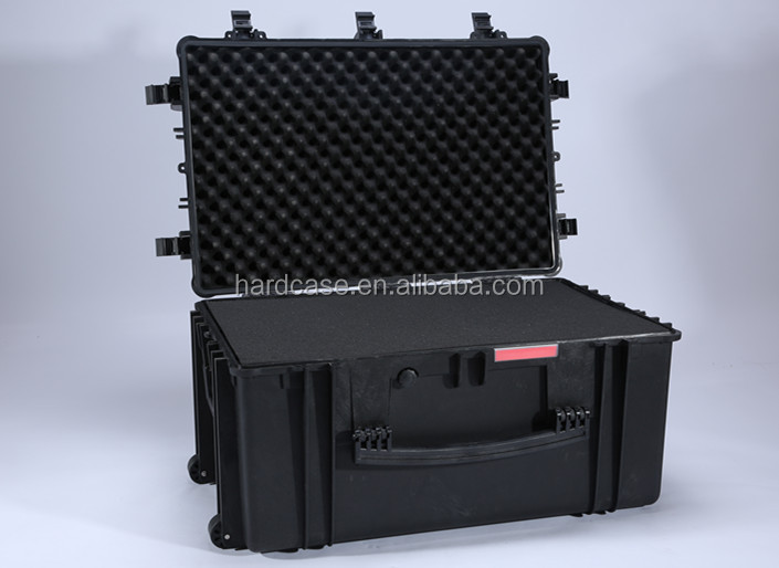 Large aircraft protection case hard plastic carrying case