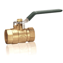 Full Port Brass Cw617N Brass Hand-Operated Ball Valve
