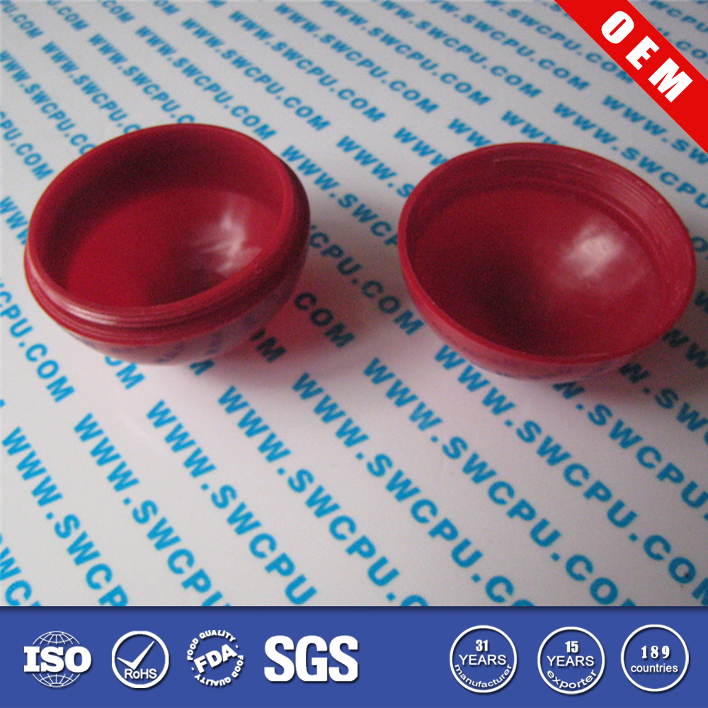 PP red plastic hollow ball