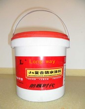 High polymer latex and Inorganic powder JS Composite Cement-based Waterproof Coating concrete masonry sealer