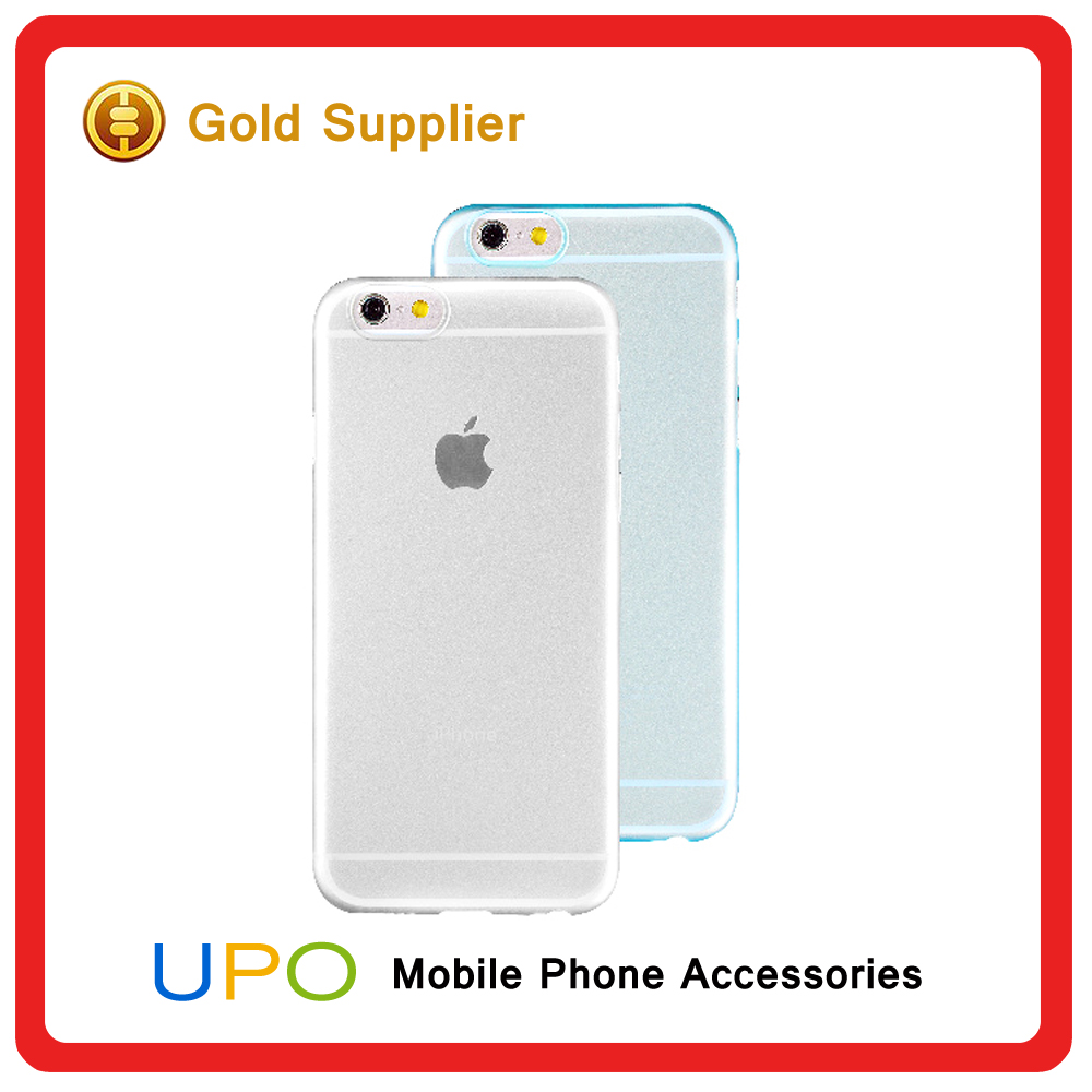 [UPO] 0.3mm Ultra Thin Slim Matte Frosted Transparent Clear Soft PP Cover Case for iPhone 6