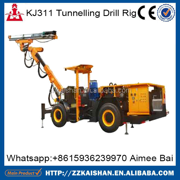 KJ311 open-pit drilling machines for stone integrated quarry drilling machines for hard stone ON SALE 2016