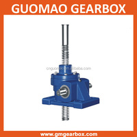 Stability mechanical worm gearbox stainless steel screw jack for lifting, pulling
