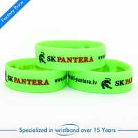 Custom cheap silicone wristbands