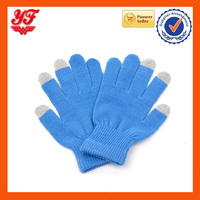 Wholesale cheap cellphone gloves capacitive winter acrylic iglove touch screen