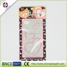 wholesale heart popular stickers mobile phone