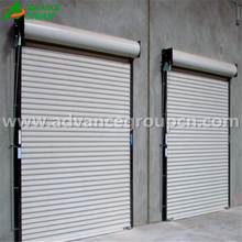 Stable industrial roll up shed doors