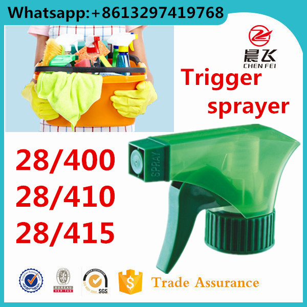 Custom hand sprayer plastic pump screw cap head 28 410 trigger sprayer plastic for bottle